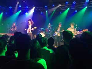 Borns Performing Live.