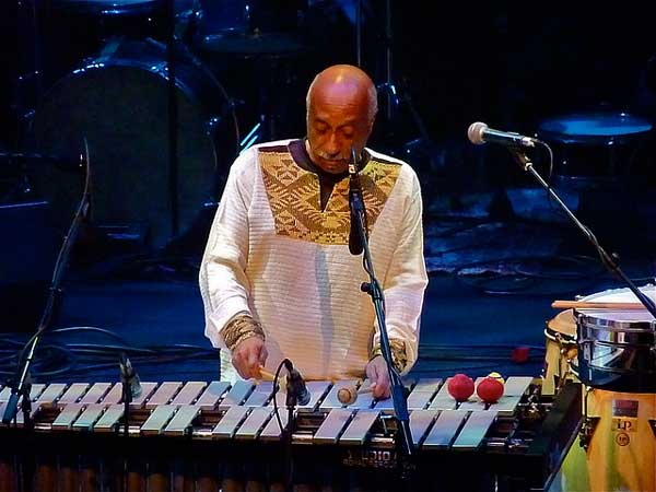 Mulatu Astatke live at the Primavera Festival.