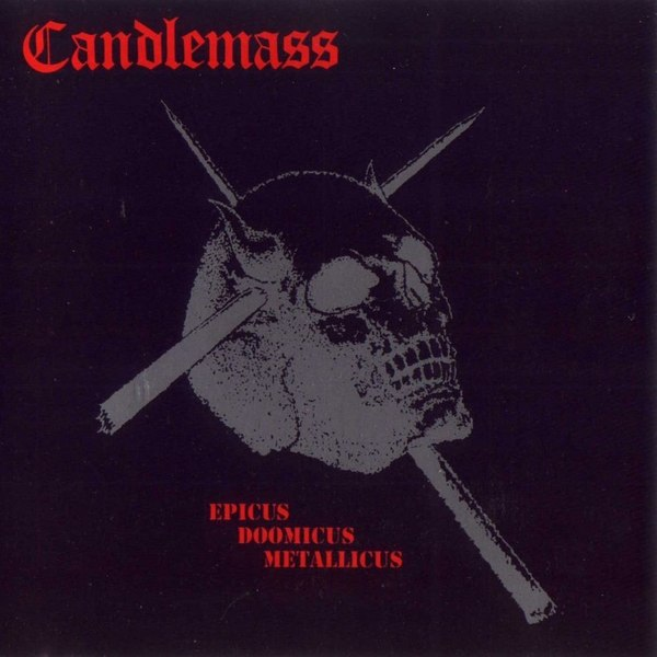 "The cover of Candlemass' ""Epicus Doomicus Metallicus"""