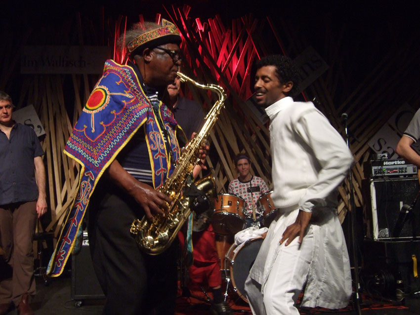Getatchew Mekurya and Melahku Belay in 2008.