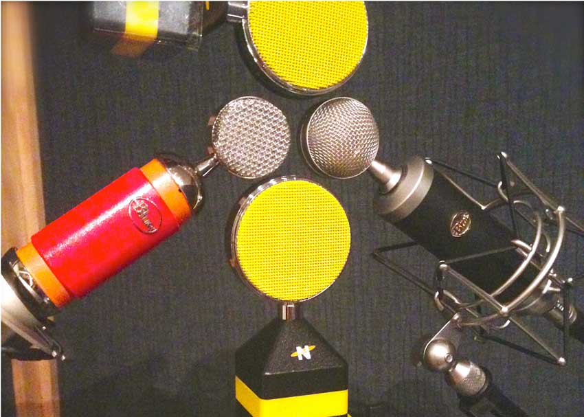 Vocal Mic Shootout: Neat King Bee, Neat Worker Bee, Blue Spark, Blue Baby Bottle