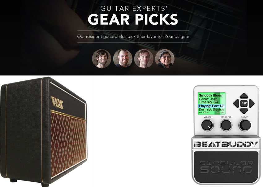 Dan guitar expert picks BeatBuddy Vox AC10