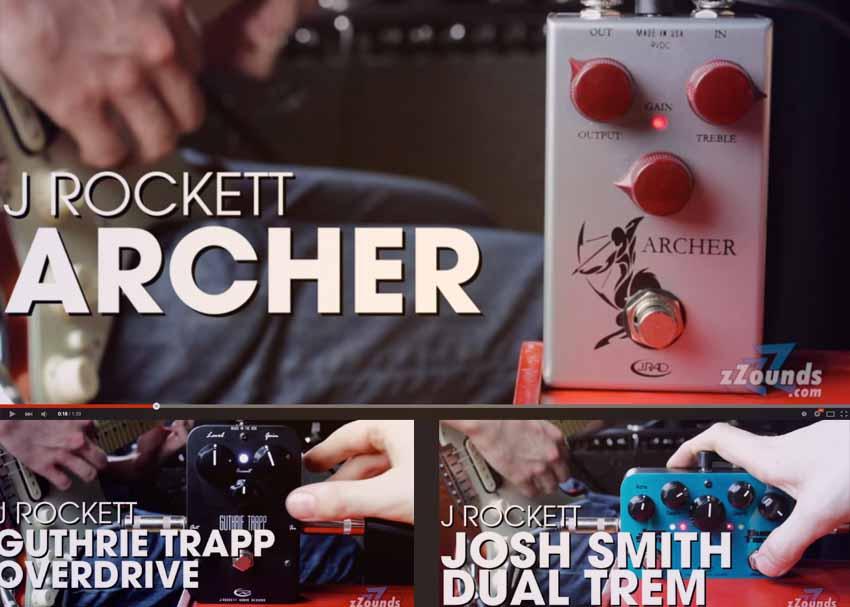 J. Rockett Pedals Demo