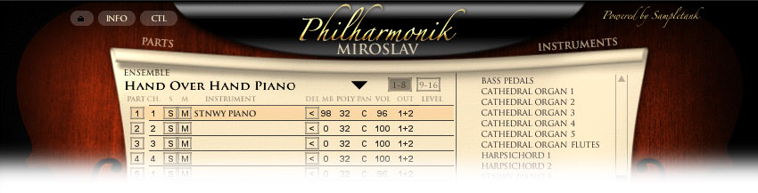 Miroslav Philharmonik combi