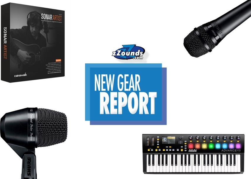 New Gear Report: Akai Advance Controllers, Shure PG ALTA