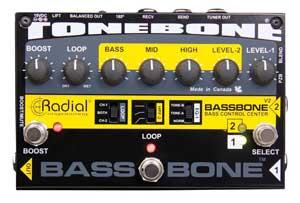 Radial Tonebone Bassbone Preamp