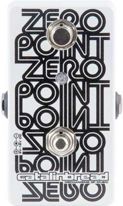 Catalinbread Zero Point Manual Flanger Pedal
