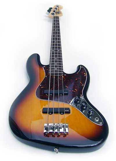Fender Jazz Bass with EMG pickups
