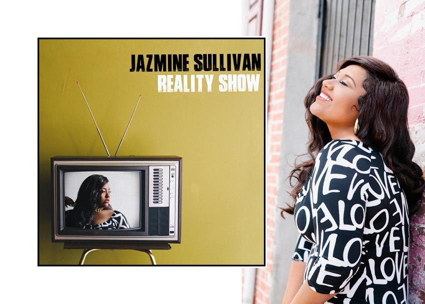 Jazmine Sullivan Reality Show Album Cover