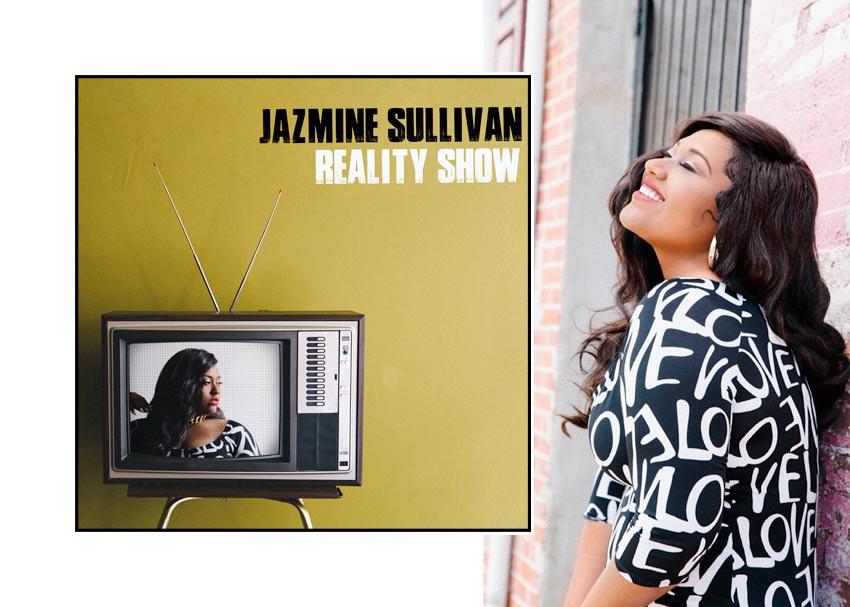 Jazmine Sullivan Reality Show Album Cover