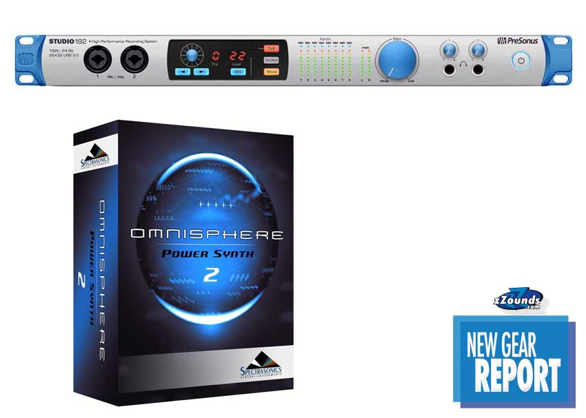 PreSonus Studio 192 USB interface Spectrasonics Omnisphere 2