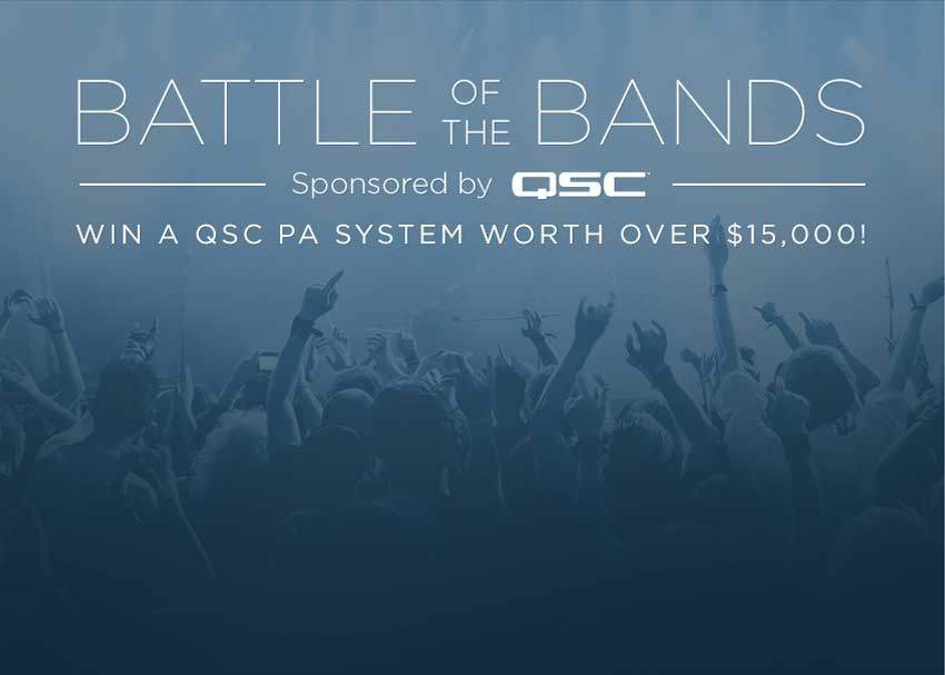 zZounds Battle of the Bands sponsored by QSC