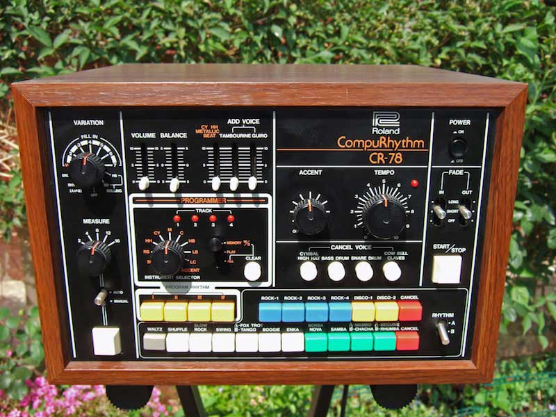 Roland CR-78 CompuRhythm