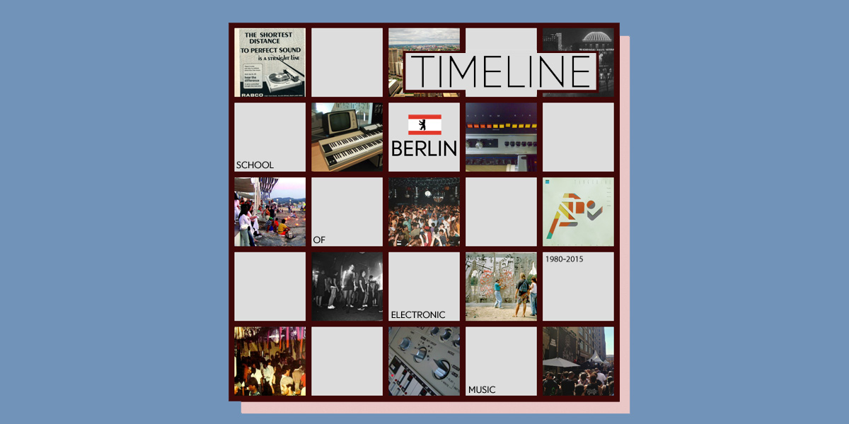 Berlin School of Electronic Music Timeline (Part 2) Featured Image