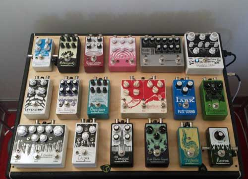 EarthQuaker Devices Pedalboard