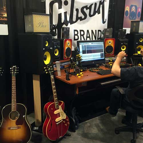 Gibson in the Studio
