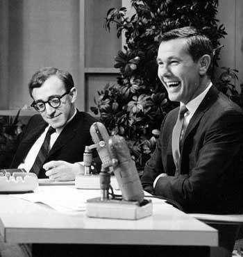 Johnny Carson interviews Woody Allen