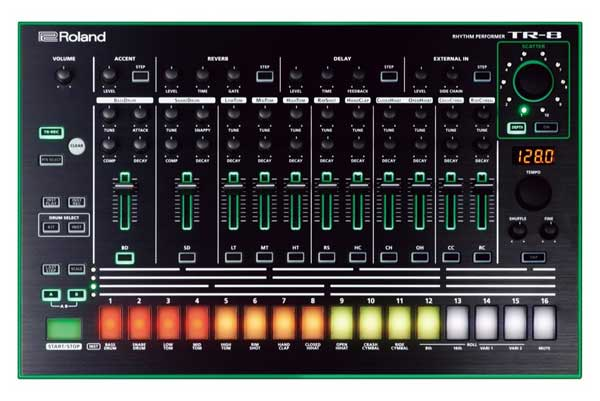 Roland's TR-8 AIRA, the modern incarnation of the TR-808.