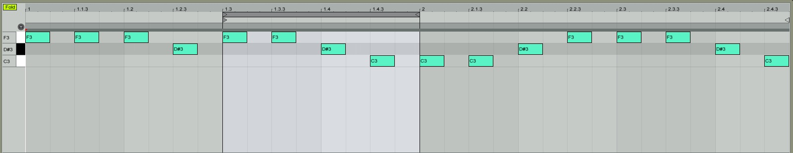 Cropping Our Main Melody