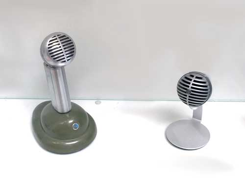 Shure 520LB microphone and Shure MOTIV MV5