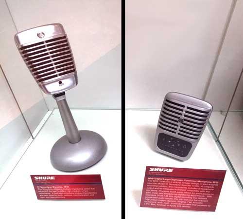 Shure Model 51 and Shure MOTIV MV51