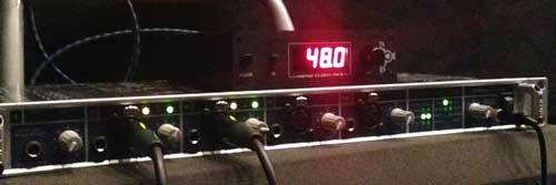 RME Fireface 800 audio interface and Black Lion Audio Micro Clock Mk3 word clock