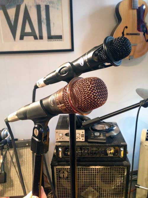 Blue enCORE 200 and 300 vocal microphones