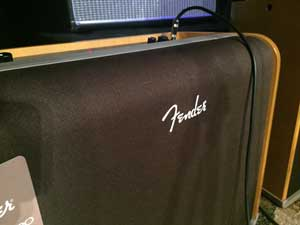 Front of the Fender Acoustic Pro.