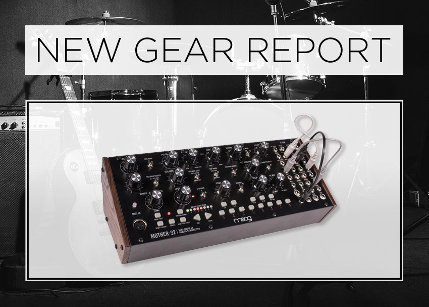 Moog Mother-32 semi-modular synthesizer