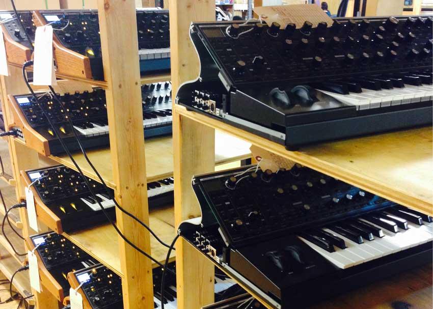 Moog Sub 37 synths