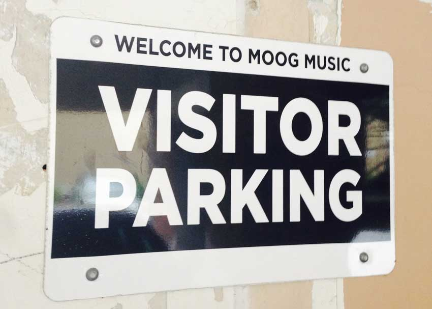 Visit the Moog factory? We don't mind if we do.