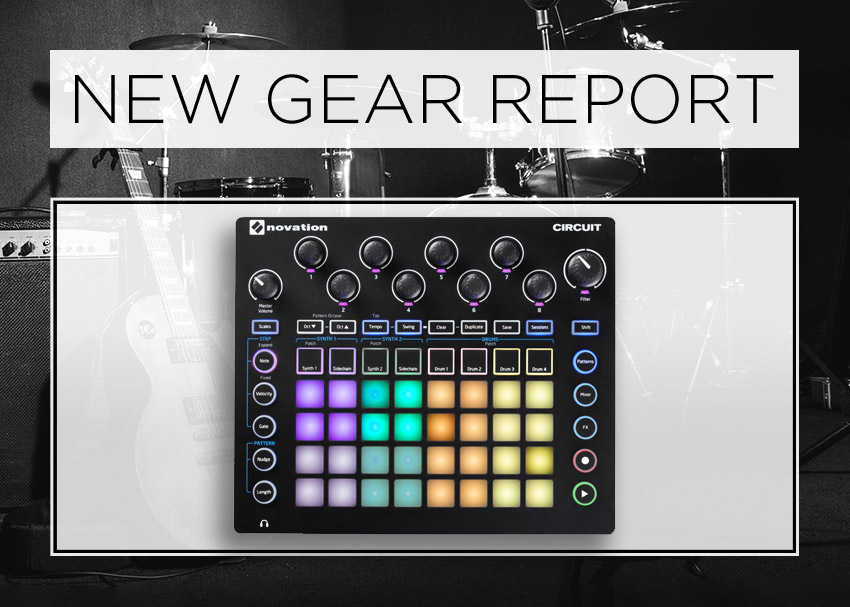 New Gear Report: Novation Circuit