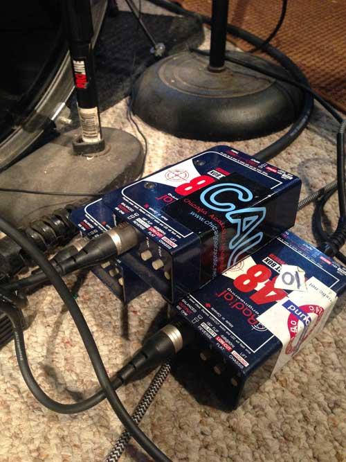 Radial J48 DI boxes