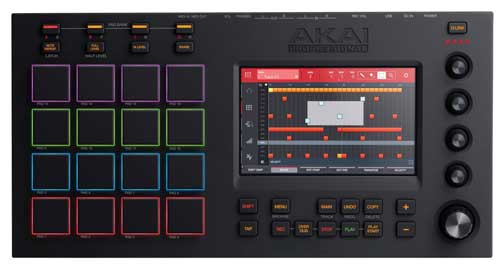 Akai MPC Touch step sequencer mode