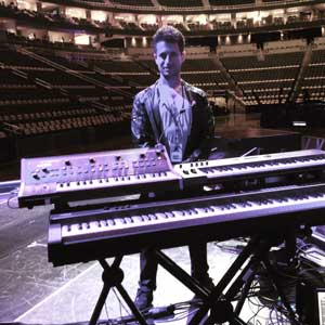 Spero's live keyboard rig for Halsey