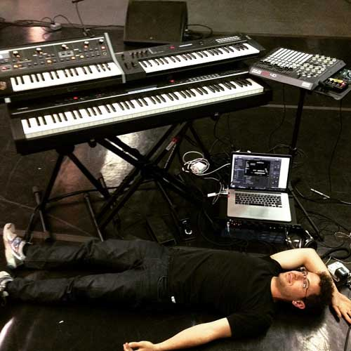 Greg Spero's keyboards and Apple MainStage rig