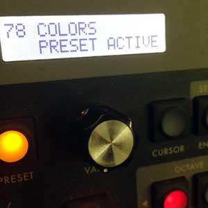 "Spero's Moog Little Phatty synth preset for Halsey's ""Colors"""