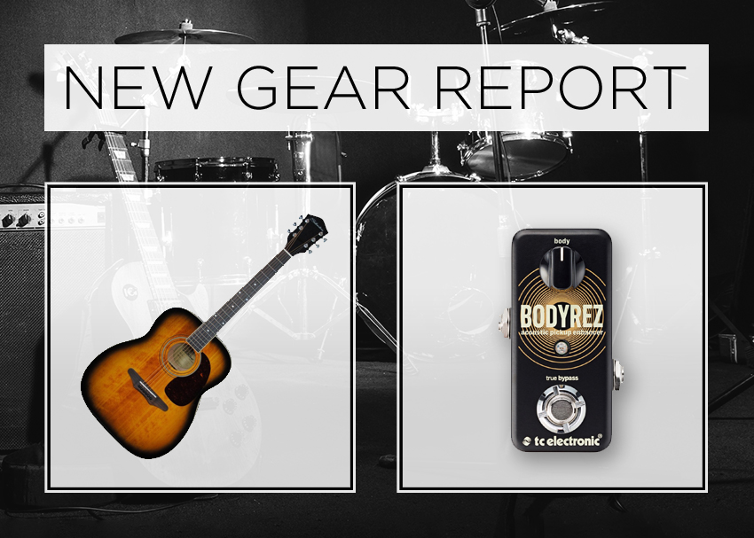 New Gear Report: Silvertone 633E & TC Electronic Bodyrez