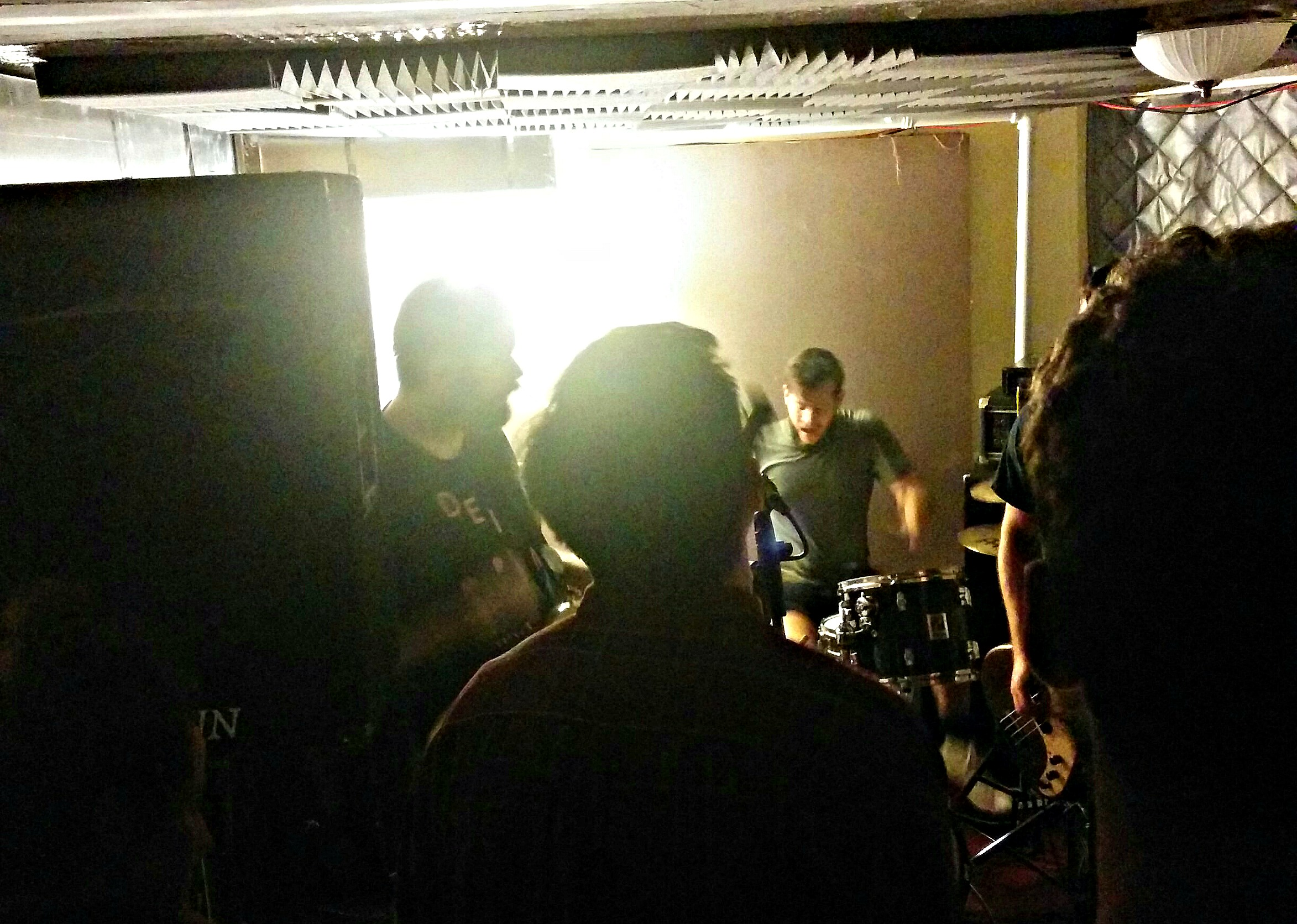 Ex-Breathers live and in basement. Credit: Brandon Jessee