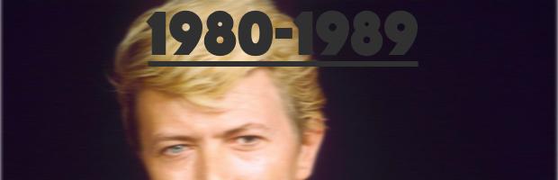David Bowie - 1980-1989