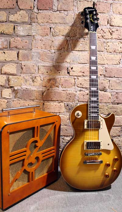 Epiphone Les Paul Standard Plustop PRO and Limited Edition Electar Century