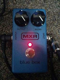 MXR Blue Box. Photo Credit: Brandon Jessee