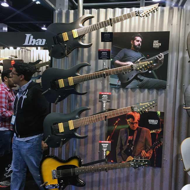 Ibanez Signature Models
