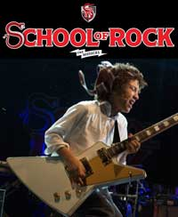 Check out our interview with School of Rock's guitarist, Brandon Niederauer!