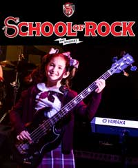 Check out our interview with School of Rock's bassist, Evie Dolan!
