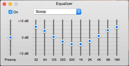 Scooped EQ