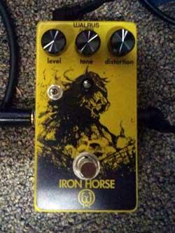 Walrus Audio Iron Horse. Photo Credit: Brandon Jessee