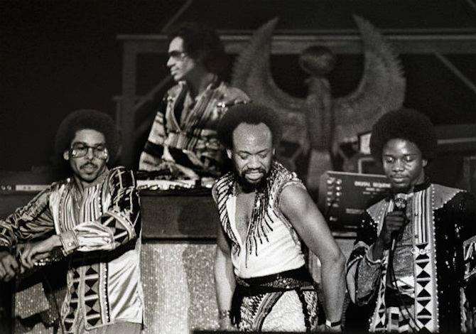 Earth, Wind, and Fire/via Facebook