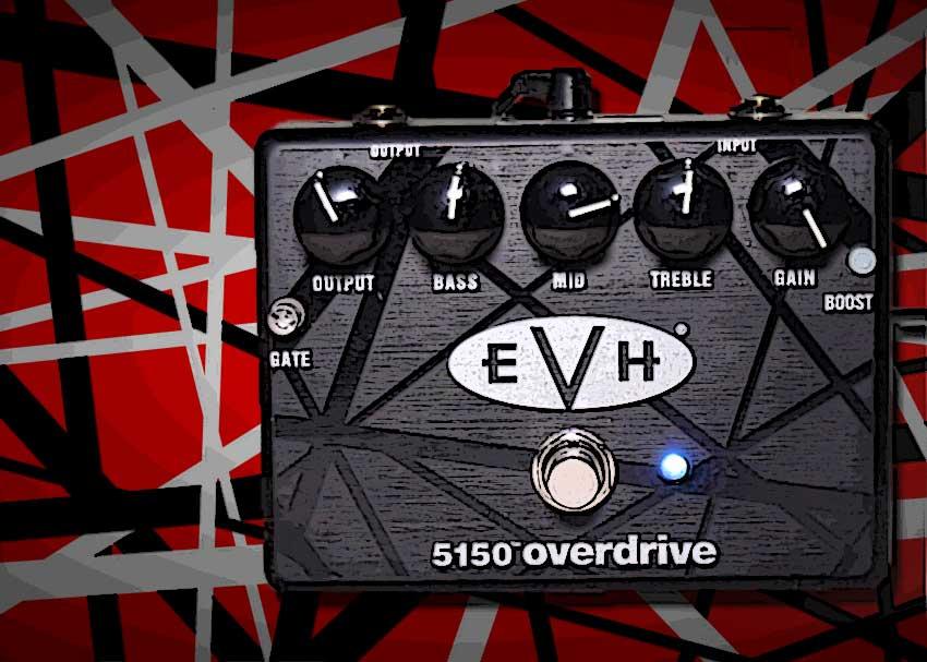 Eddie Van Halen Iconic Rigs -- EVH 5150 Overdrive Pedal