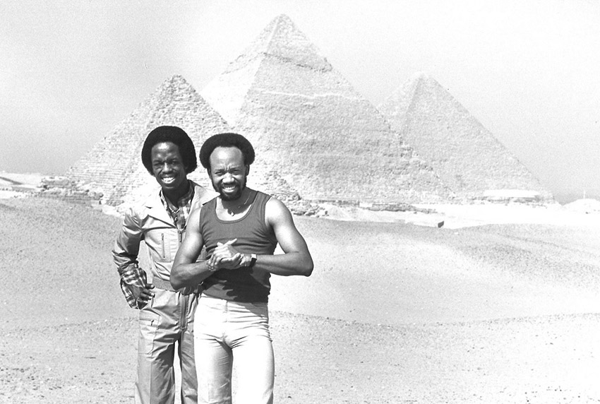 Maurice White in Egypt
